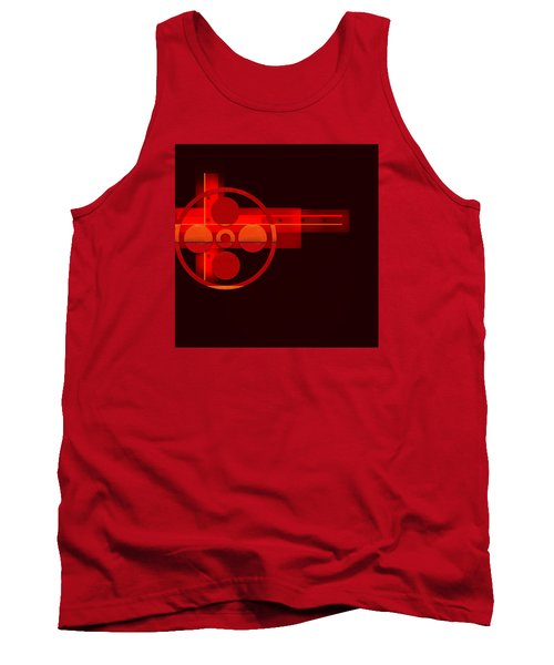 Tank Top featuring the painting Penman Original- 270 by Andrew Penman