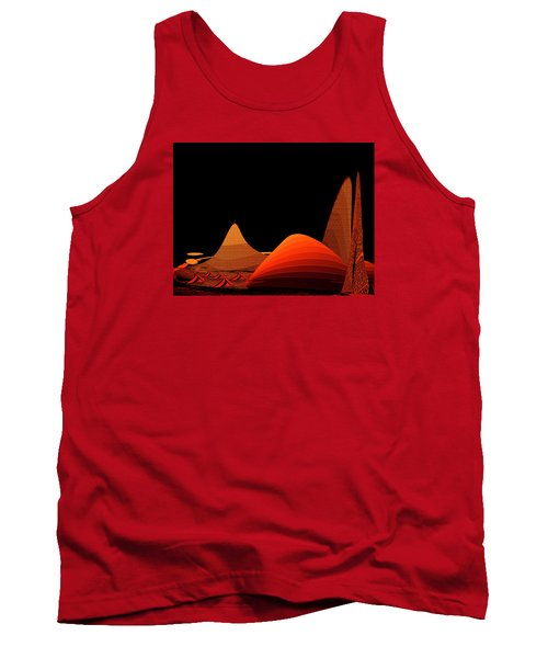 Tank Top featuring the digital art Penman Original-294-refuge by Andrew Penman