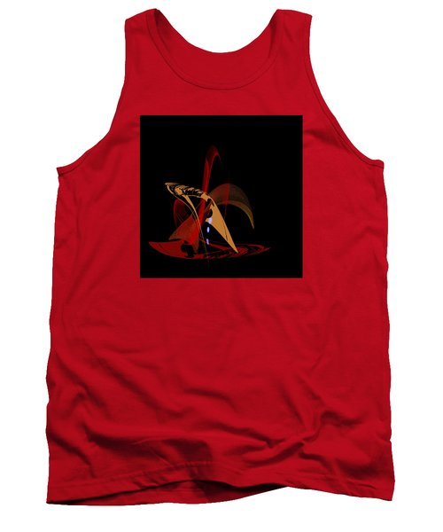 Tank Top featuring the painting Penman Original-328 by Andrew Penman