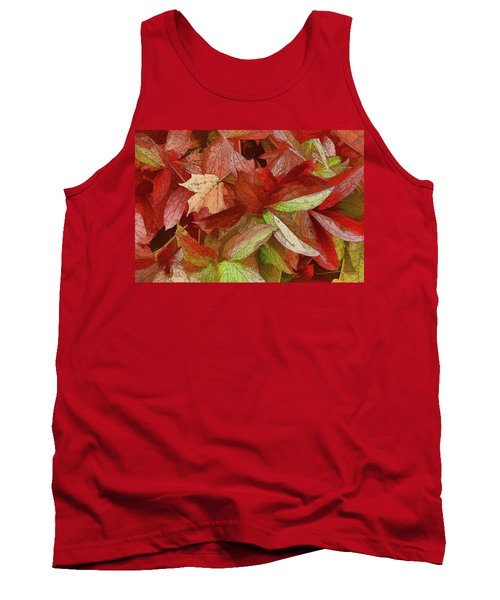 Peony Farewell Tank Top by Betsy Zimmerli