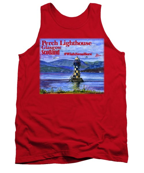 Perch Lighthouse Scotland Shirt Tank Top