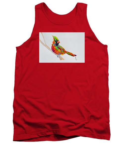 Perch With Pride Tank Top by Beverley Harper Tinsley