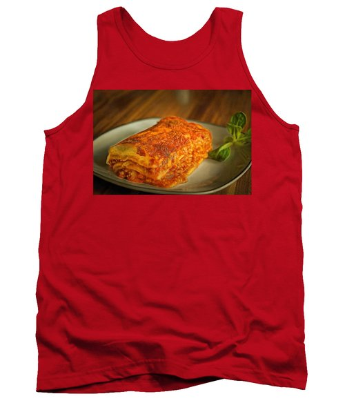 Tank Top featuring the painting Perfect Food by Harry Warrick