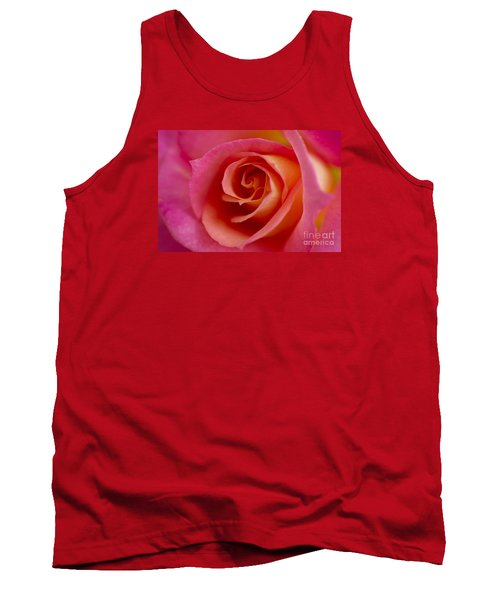 Tank Top featuring the photograph Perfect Moment Rose by Jeanette French