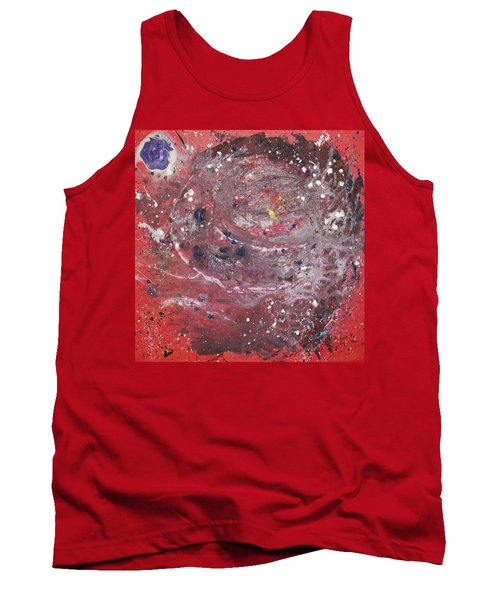 Tank Top featuring the painting Perfect Storm by Michael Lucarelli