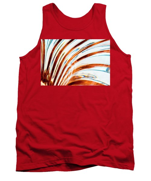 Tank Top featuring the photograph Petals Of Glass by Wendy Wilton
