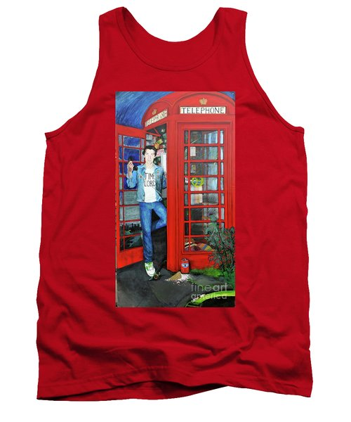 Peter Capaldi Dr Who Putting You Through Tank Top