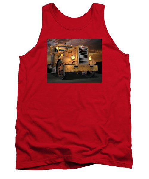 Peterbilt Ol Yeller Tank Top