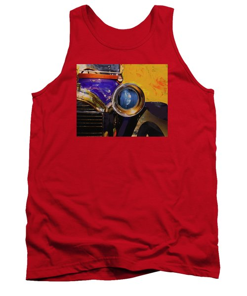 Peugeot Cabriolet 1913 Tank Top by Walter Fahmy