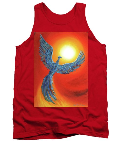 Phoenix Rising Tank Top by Laura Iverson
