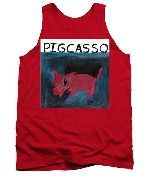 Pigcasso Tank Top