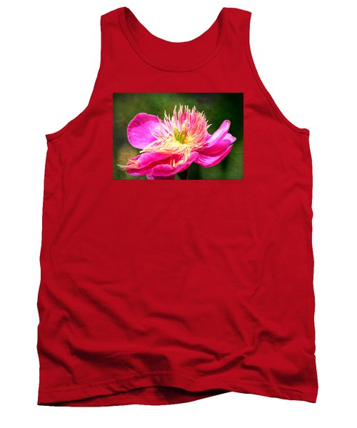 Pink Beauty Tank Top by Bonnie Bruno