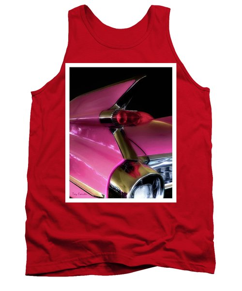 Pink Cadillac Tank Top by Trey Foerster
