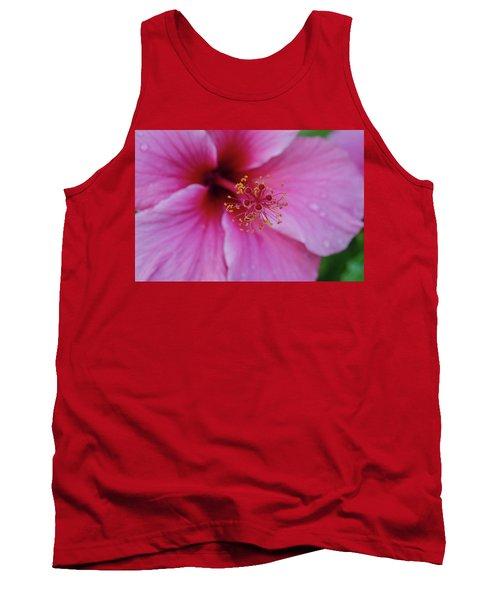 Pink Flower II Tank Top