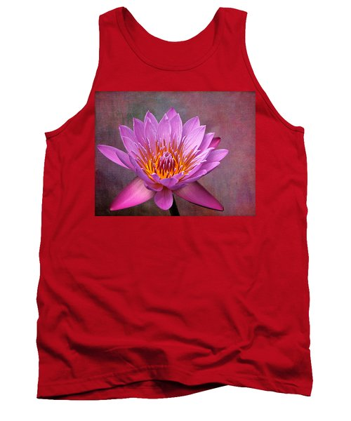 Tank Top featuring the photograph Pink Lady by Judy Vincent