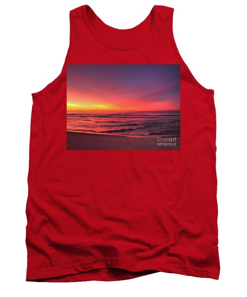 Pink Lbi Sunrise Tank Top