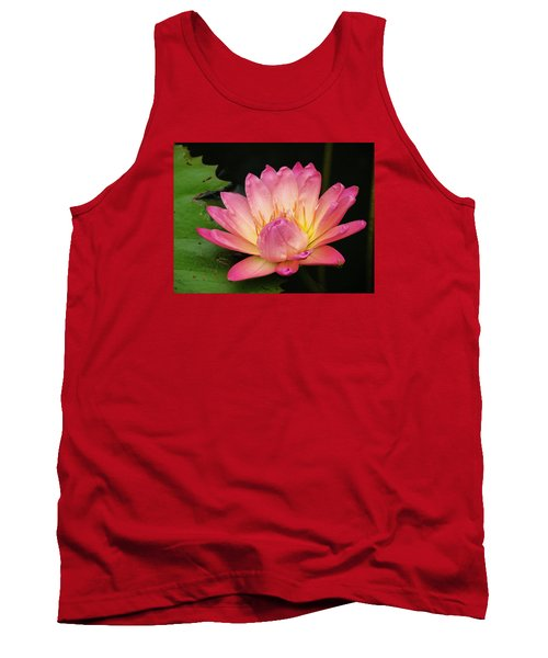Pink Lily 1 Tank Top