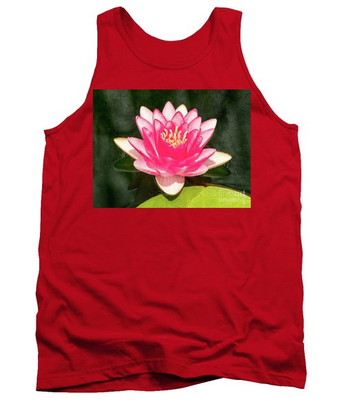 Pink Lily Tank Top