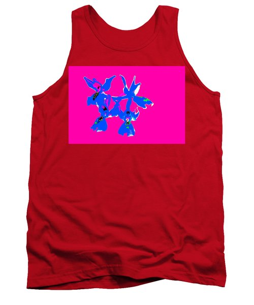 Pink Provence Orchid Tank Top by Richard Patmore