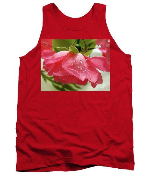 Pink Rose #3 Tank Top