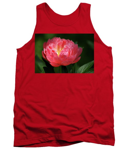 Tank Top featuring the photograph Pink Rose by Jean Haynes