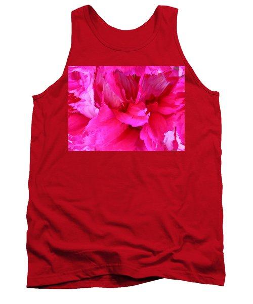 Pink Splash Tank Top