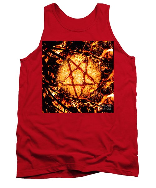 Pizzagate Inferno Tank Top