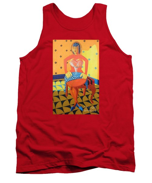 Plausible Arrangements In Anthropomorphic Possibilities Tank Top