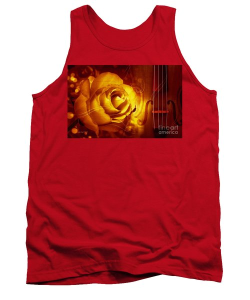 Play A Love Song Tank Top by Annie Zeno