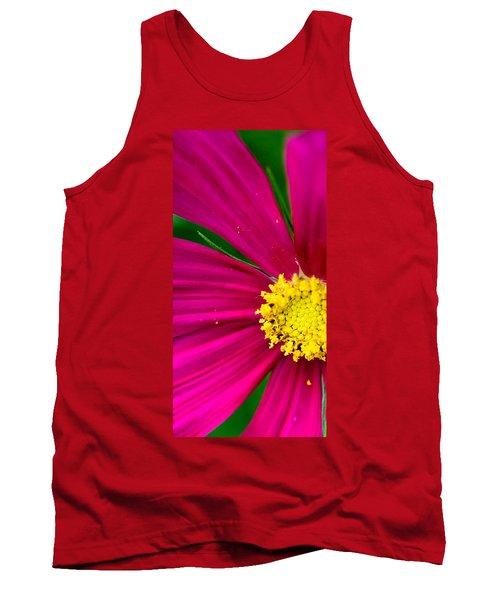 Plink Flower Closeup Tank Top by Michael Bessler