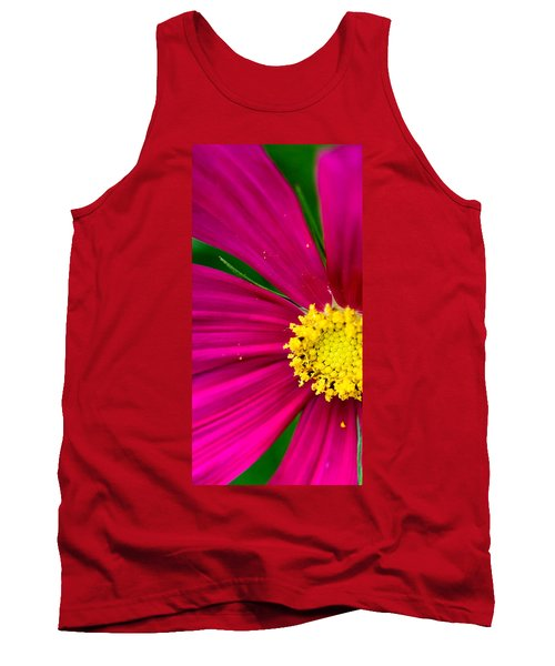Plink Flower Closeup Tank Top