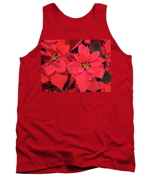 Poinsettias Tank Top