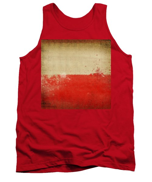 Poland Flag  Tank Top