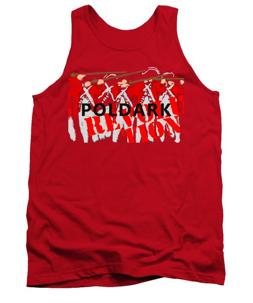 Poldark Revolution And Tee  Tank Top by Suzanne Powers