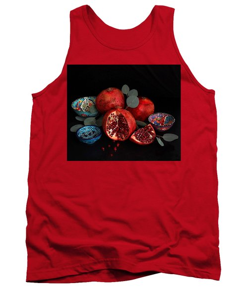 Pomegranate Power Tank Top