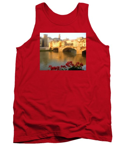 Ponte Vecchio In Florence Tank Top by Lisa Boyd