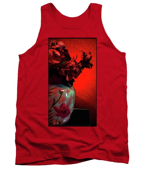 Poppies And Roses Tank Top