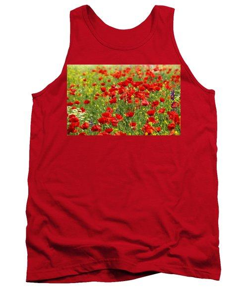 Poppy Field Tank Top