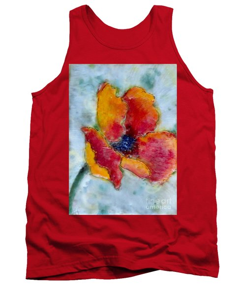 Poppy Smile Tank Top