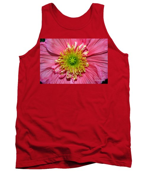 Tank Top featuring the photograph Poppy by Vivian Krug Cotton
