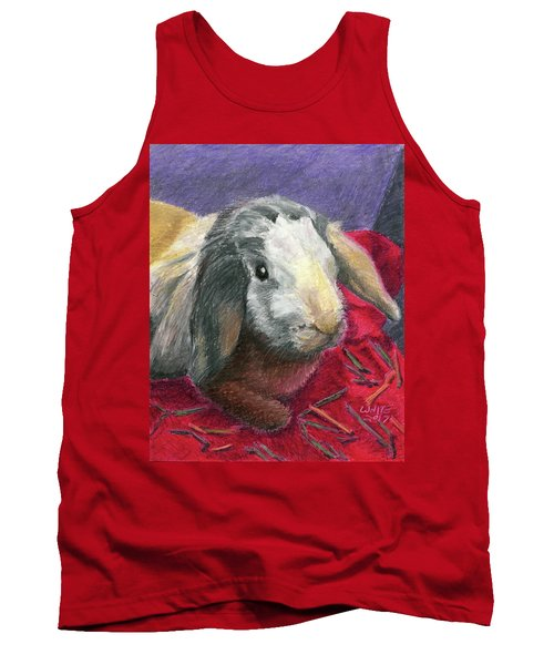 Portrait Of A Bunny Tank Top