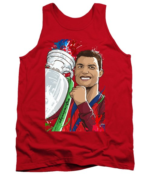 Portugal Campeoes Da Europa Tank Top by Akyanyme