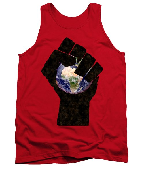 Power To The People By Pierre Blanchard Tank Top