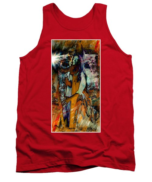 Praise Him With The Harp IIi Tank Top by Anastasia Savage Ealy