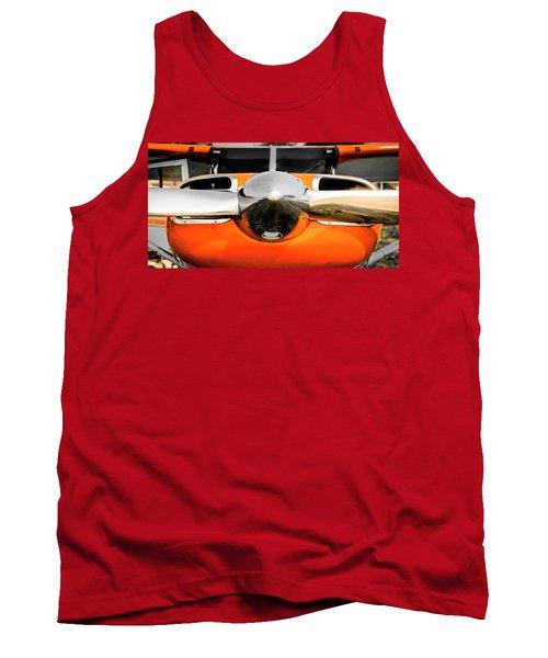 Pretty In Orange Tank Top