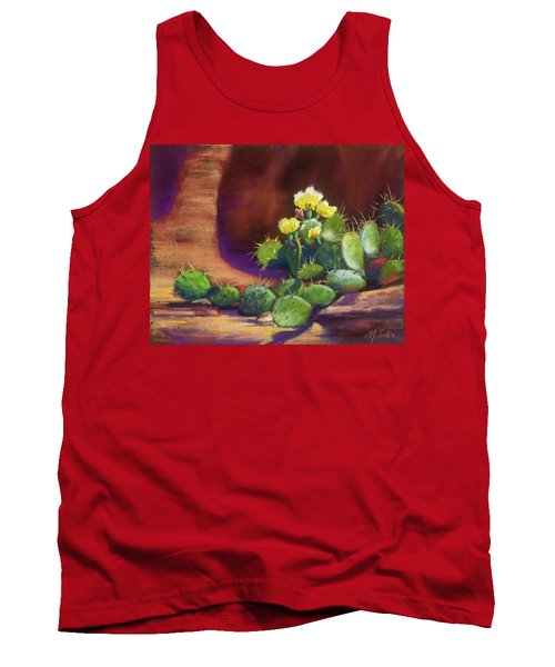 Pricklies On A Ledge Tank Top