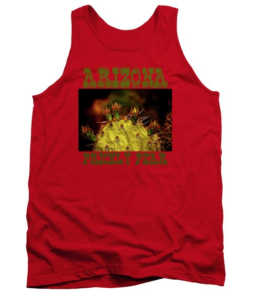 Prickly Pear Spring Tank Top by Roger Passman