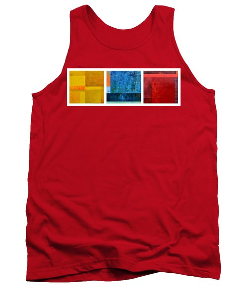 Tank Top featuring the painting Primary - Artprize 2017 by Michelle Calkins