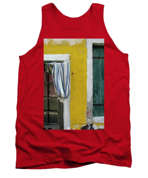Primary Colours Of Burano Tank Top