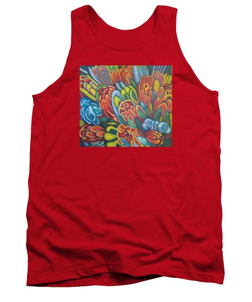Proteas At Noon 2015 Tank Top